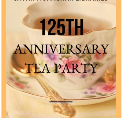 Library Tea invitation
