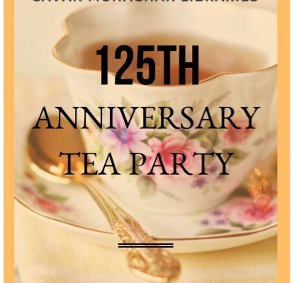 Library Tea invitation